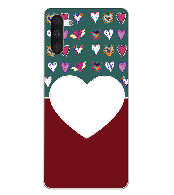 Hearts Photo Back Cover for Samsung Galaxy Note 10