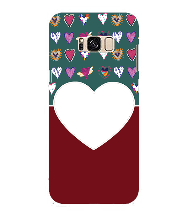 Hearts Photo Back Cover for Samsung Galaxy S8 Plus