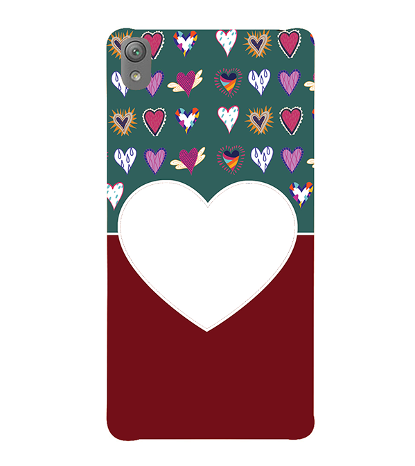 Hearts Photo Back Cover for Sony Xperia E5
