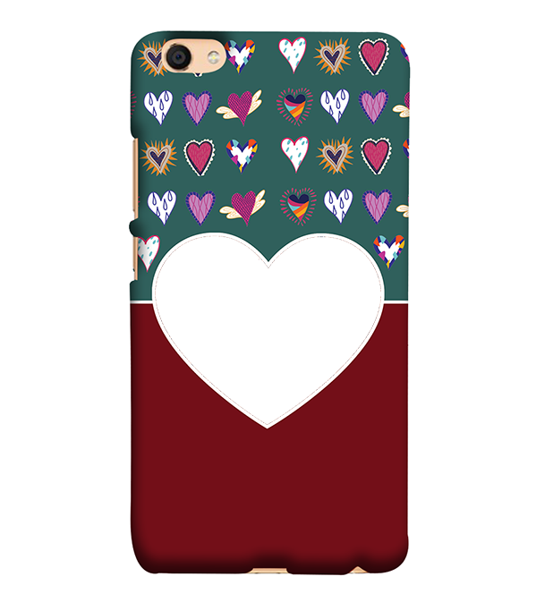 Hearts Photo Back Cover for Vivo V5 : V5s