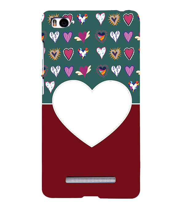 Hearts Photo Back Cover for Xiaomi Mi 4i
