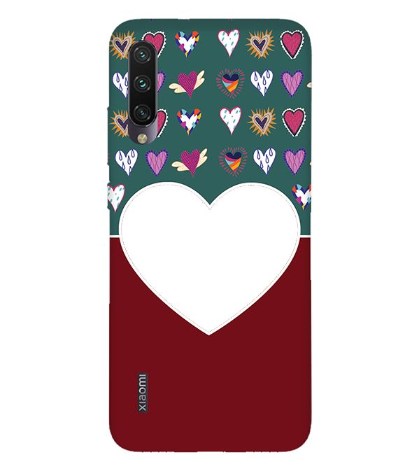 Hearts Photo Back Cover for Xiaomi Mi A3
