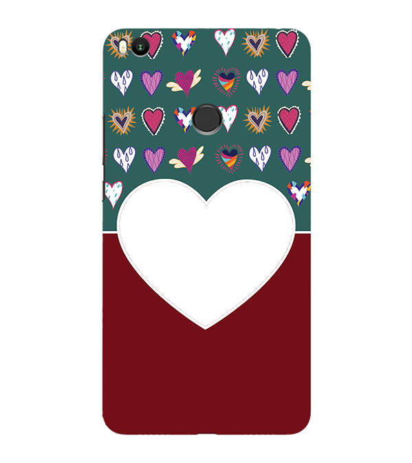 Hearts Photo Back Cover for Xiaomi Mi Max 2
