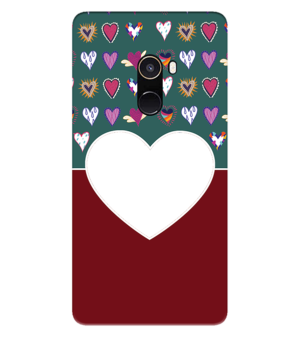 Hearts Photo Back Cover for Xiaomi Mix 2