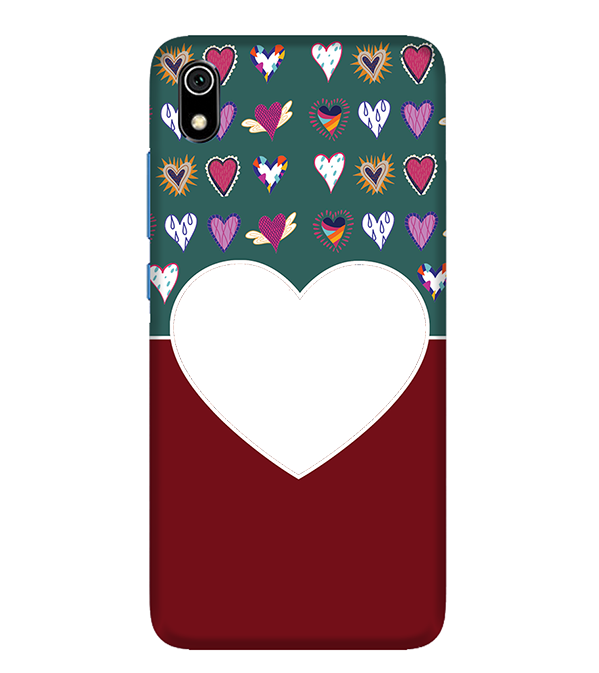 Hearts Photo Back Cover for Xiaomi Redmi 7A