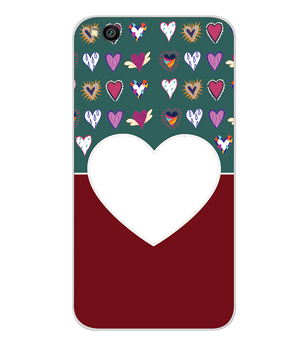 Hearts Photo Back Cover for Xiaomi Redmi Go