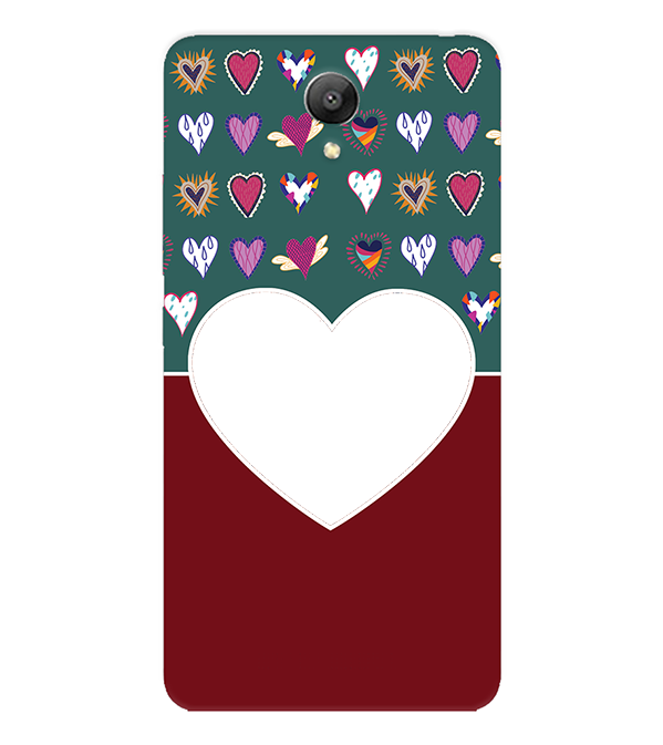 Hearts Photo Back Cover for Xiaomi Redmi Note 2