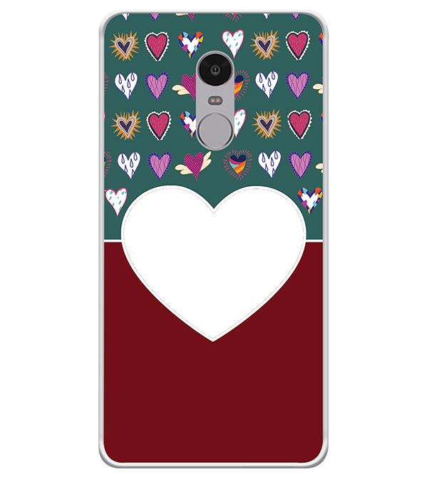 Hearts Photo Back Cover for Xiaomi Redmi Note 4