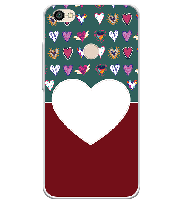 Hearts Photo Back Cover for Xiaomi Redmi Y1