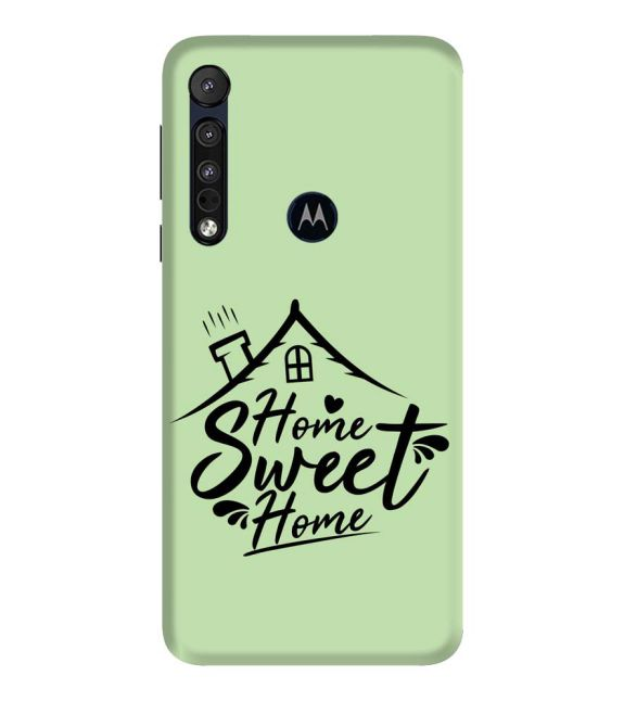 Home Sweet Home Back Cover for Motorola One Macro