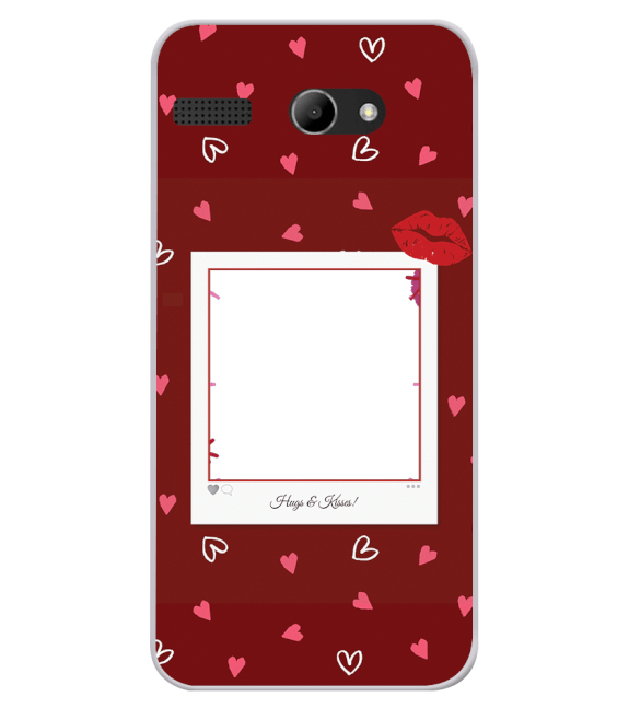 Need is Love Back Cover for Lava Iris Atom X
