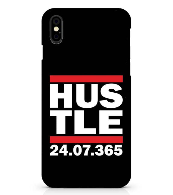 Hustle 365 Days Back Cover for Apple iPhone X