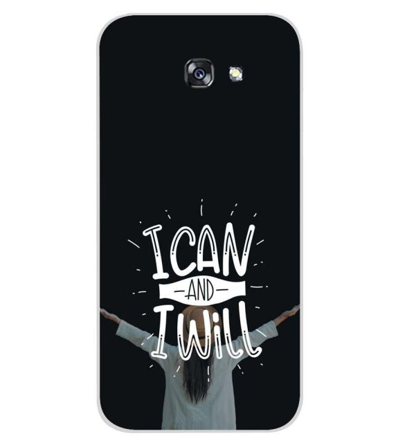 I Can and I Will Back Cover for Samsung Galaxy A7 (2017)