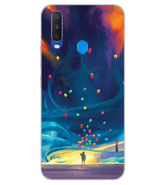 In The Sky Back Cover for Samsung Galaxy A60
