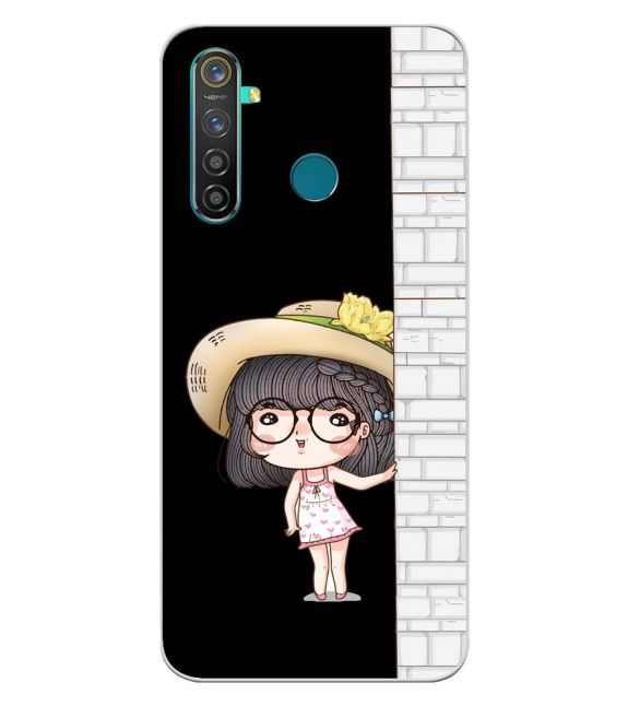 Innocent Girl Back Cover for Realme 5 Pro