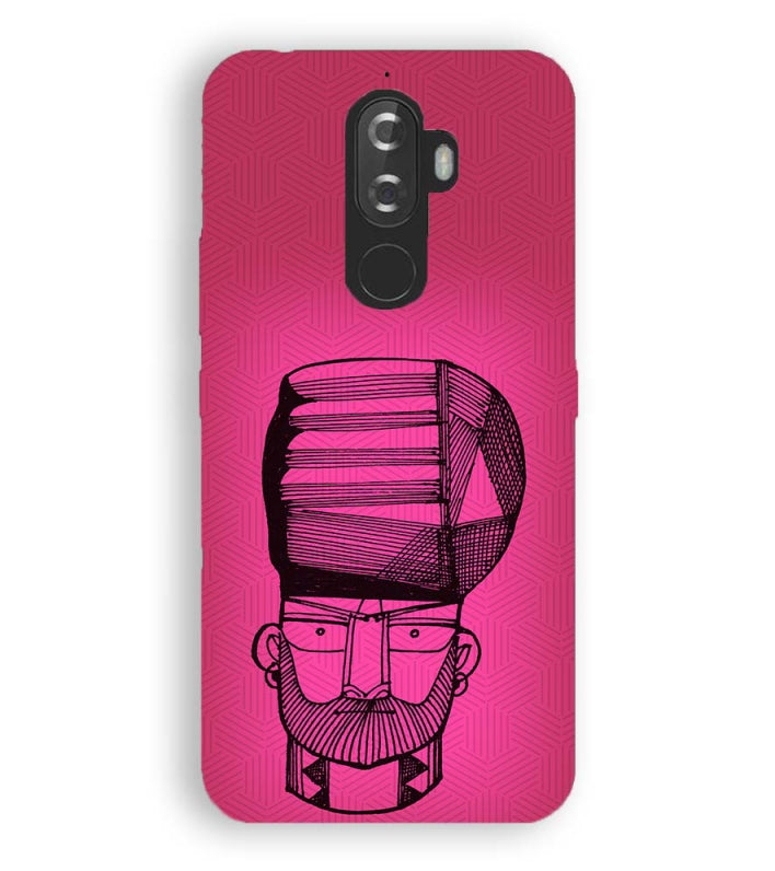 quality design 4397a c1975 Intense look Back Cover for Lenovo K8 Note