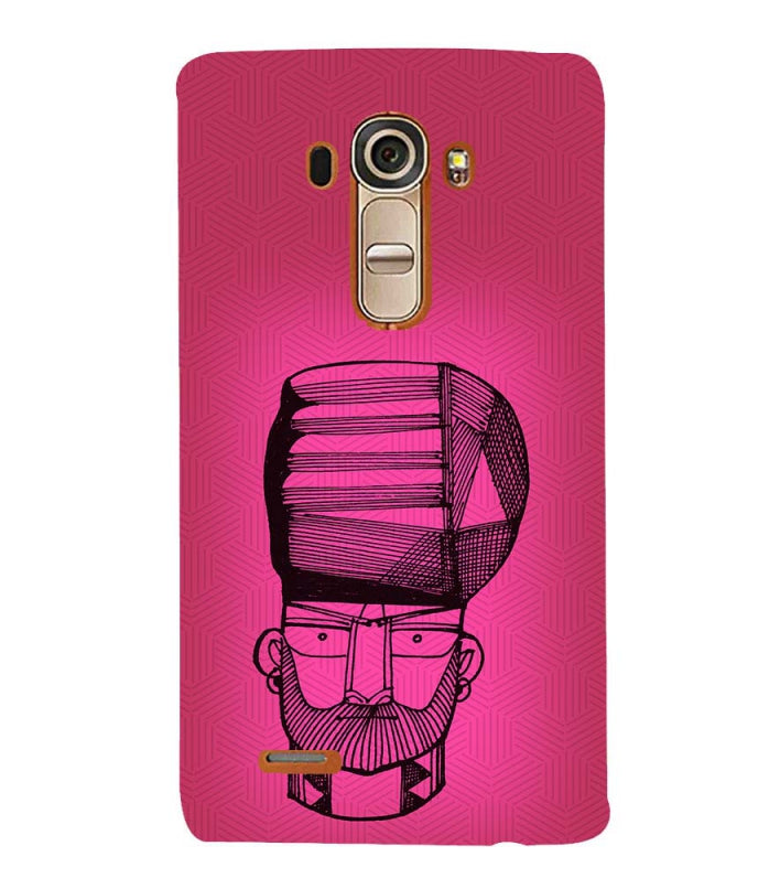 Intense look Back Cover for LG G4