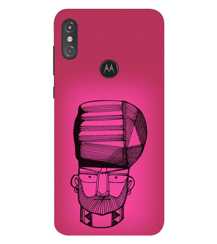 Intense look Back Cover for Motorola One Power (P30 Note)