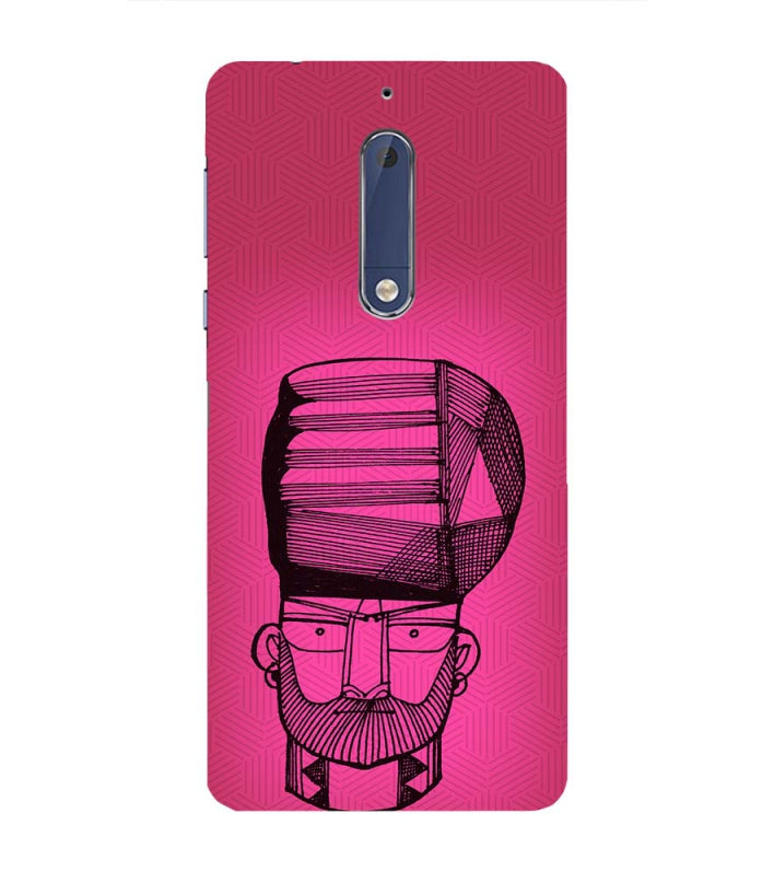 separation shoes 147a0 e832c Intense look Back Cover for Nokia 5
