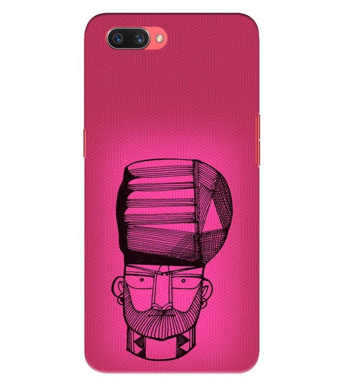 Stylish Oppo A3s Mobile Cover