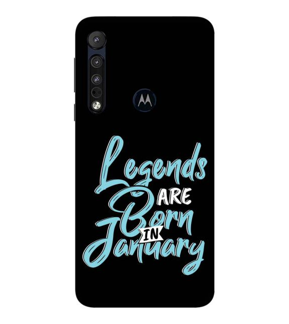 January Legends Back Cover for Motorola One Macro