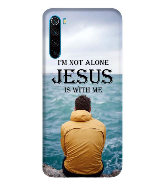 Jesus is with Me Back Cover for Xiaomi Redmi Note 8