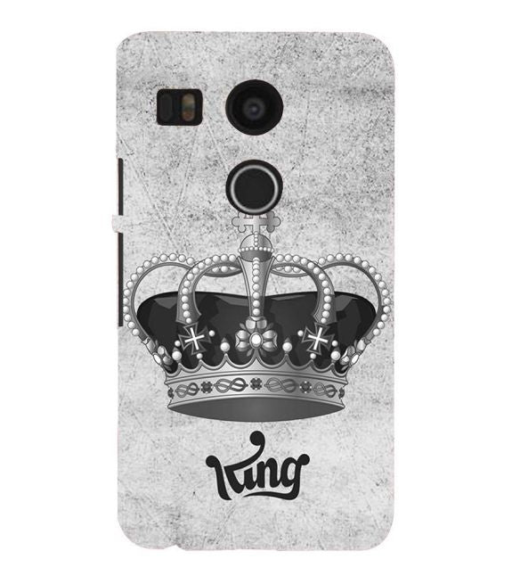 King Back Cover for Google Nexus 5X