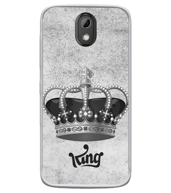 King Back Cover for HTC Desire 526