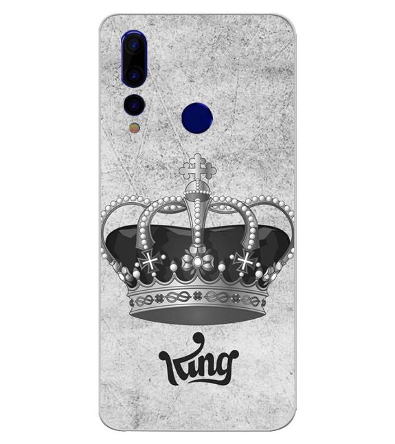 King Back Cover for HTC Wildfire X