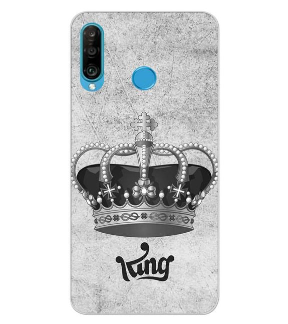 King Back Cover for Huawei P30 lite