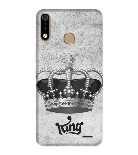 King Back Cover for Infinix Hot 7 Pro
