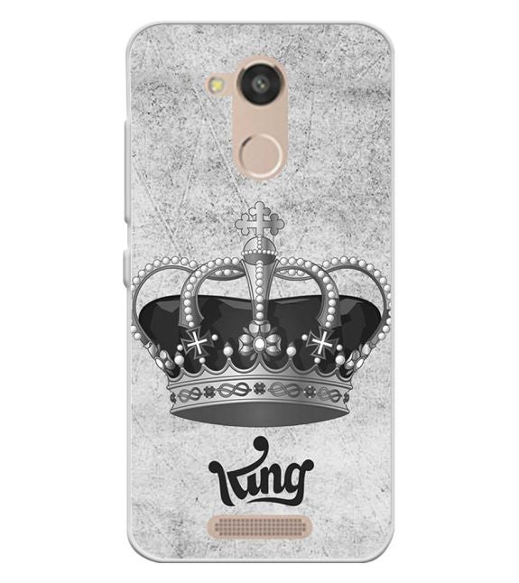 King Back Cover for InFocus Turbo 5s