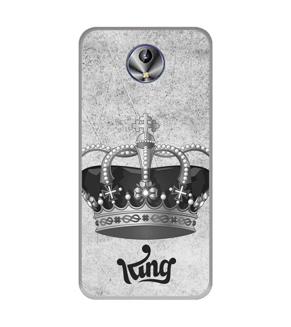 King Back Cover for Intex Amaze+