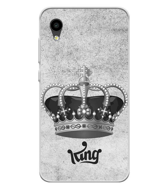King Back Cover for Intex Aqua 4G Mini