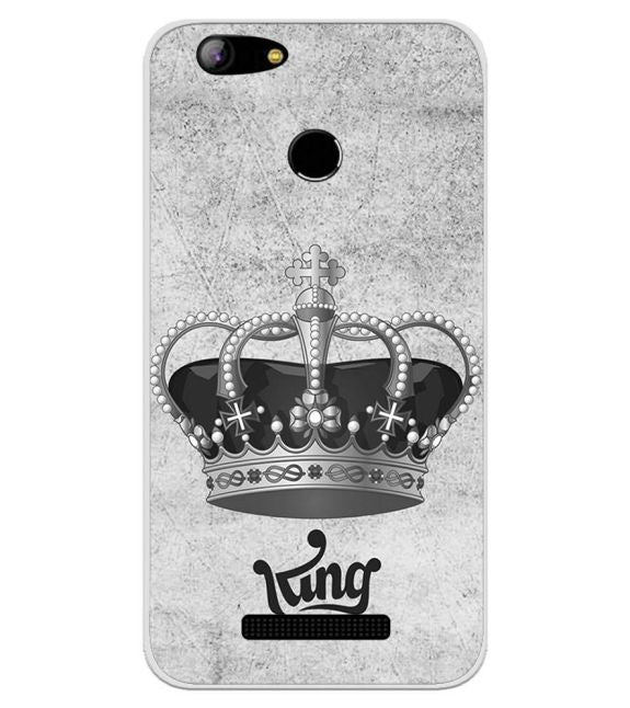 King Back Cover for Intex Aqua Lions X1