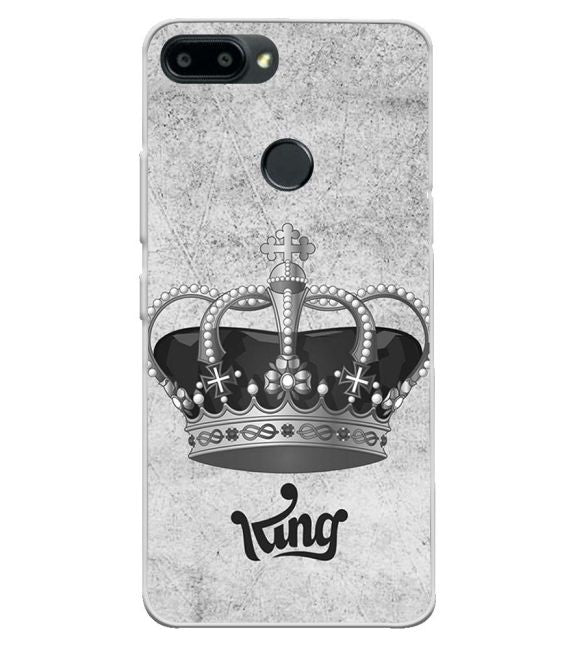 King Back Cover for Itel A45