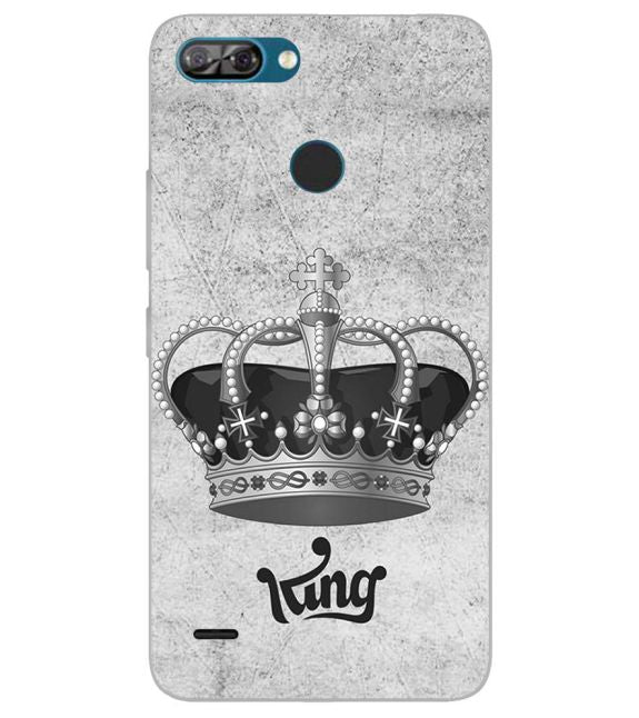 King Back Cover for Itel A46
