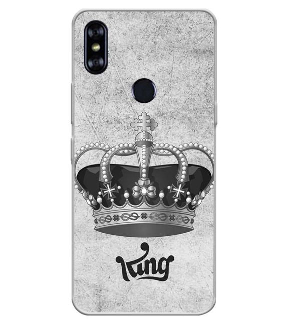 King Back Cover for Itel A62