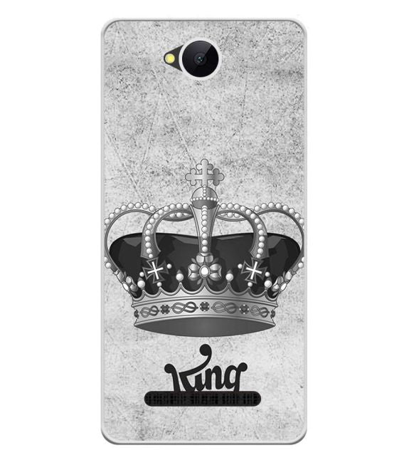 King Back Cover for Karbonn A45 Indian