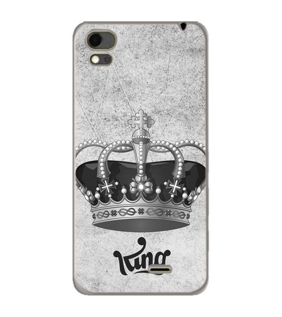 King Back Cover for Karbonn Aura Note 4G