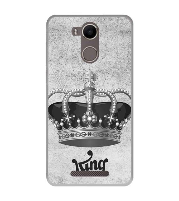 King Back Cover for Karbonn K9 Kavach 4G