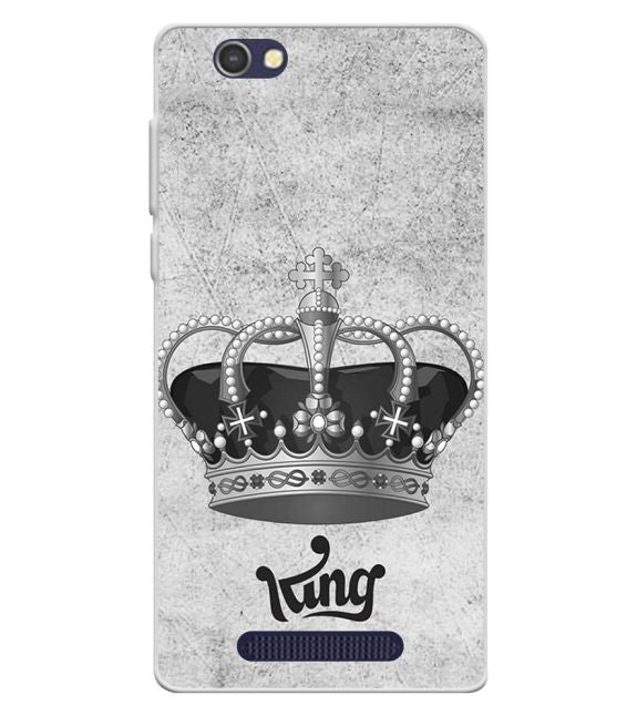 King Back Cover for Lava A72