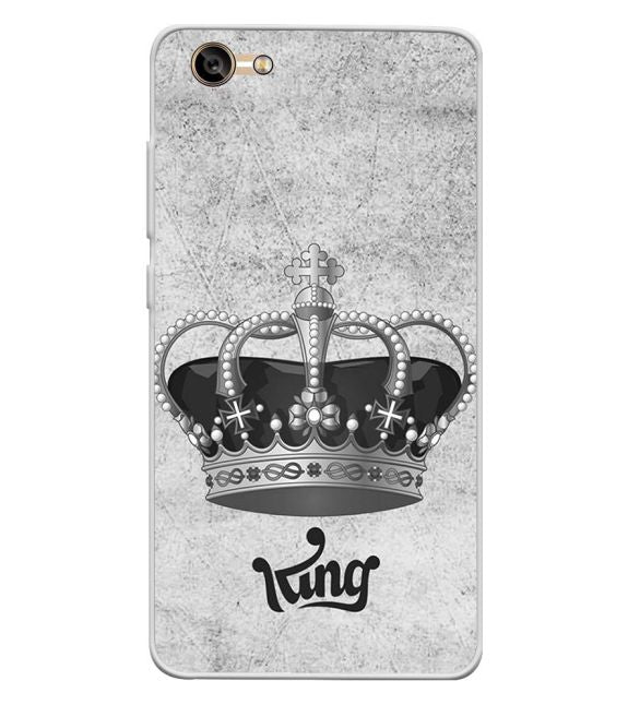 King Back Cover for Lava A77