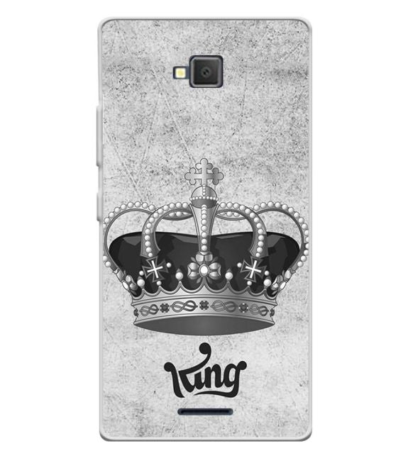 King Back Cover for Lava A82