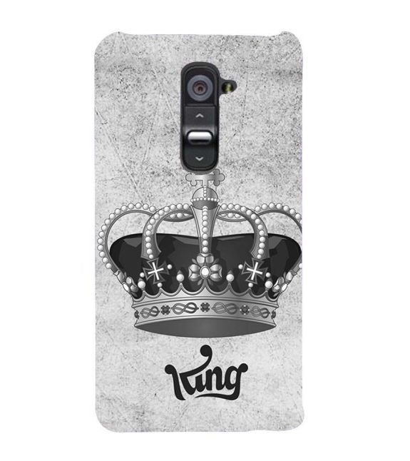 King Back Cover for LG G2