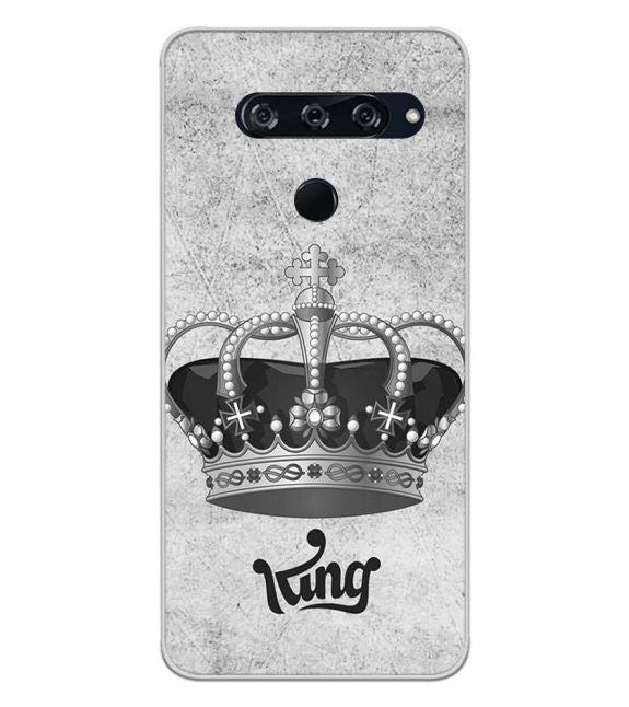 King Back Cover for LG V40 ThinQ