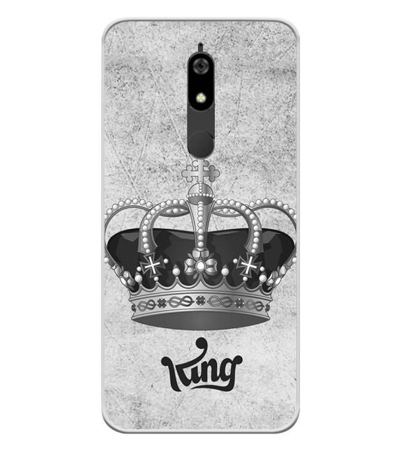 King Back Cover for Micromax Canvas Infinity Pro