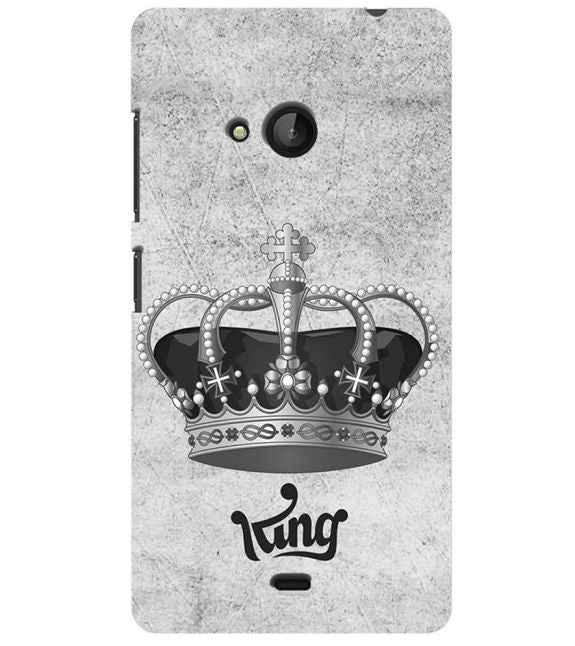 King Back Cover for Microsoft Lumia 540