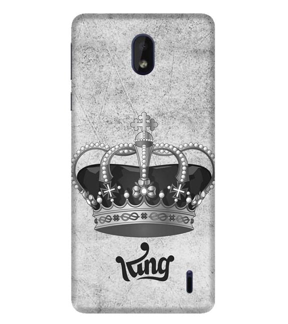 King Back Cover for Nokia 1 Plus