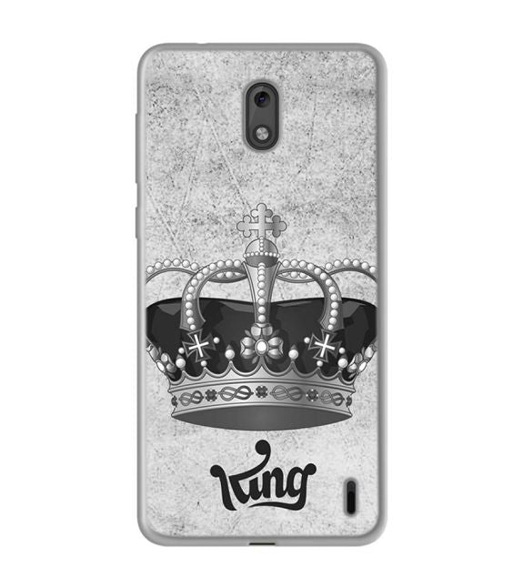 King Back Cover for Nokia 2